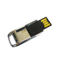 Goud Zilver Mini Metal Swivel USB Flash Drive