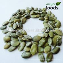 Noyau blanc de graines de citrouille avec une bonne qualité