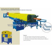 YTSING- YD-4030 a passé le rouleau de tuyau de Downspout d'ISO & CE formant la machine, machines de fabrication de Pioe, machine de pipe