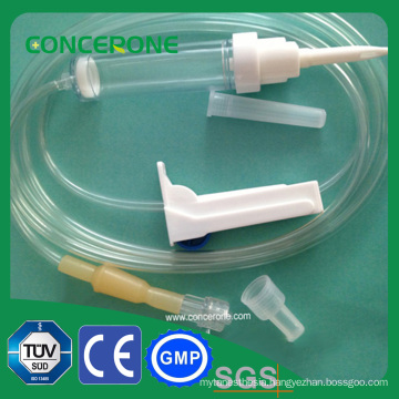 Disposable Infusion Set with Burette