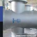 A234 Wpb & A216 Wcb & A105 F304 / F316 Cesta De Filtro De Tela / Filtro De Balde