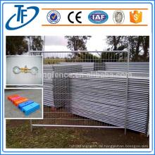 Australien Standard AS 4687-2007 Verzinkte Baustelle vorübergehende Zäune