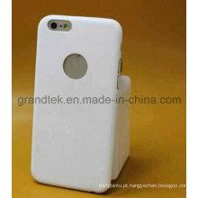 Caso móvel ultrafino do plutônio para o caso iPhone6 livre para fazer o logotipo