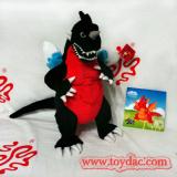 Plush Puppet Dinosaur