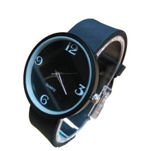 bright colors design silicone watch