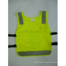 100% Polyester Knitting Fabric of Safety Vest