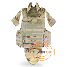 Bulletproof Vest with Concealable Hydration Pocket Meets ISO Standard