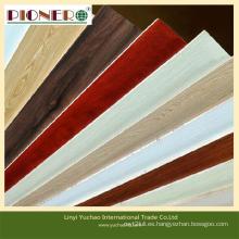 La madera contrachapada doble hecha frente melamina E1 Glue de la venta caliente 4 * 8feet