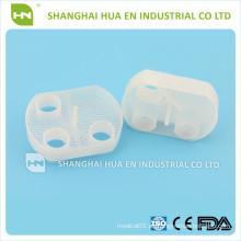 Trampas de evacuación blancas de plástico dental desechables