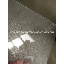 Super Clear Coarse Frosted PVC Transparent Sheet
