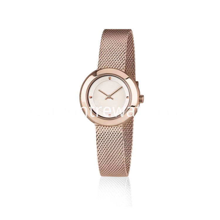 Lady Rose Gold Watch