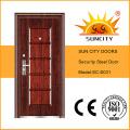 Steel Single Security Door Design