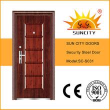 Стальная Одиночная Конструкция Двери Безопасности
