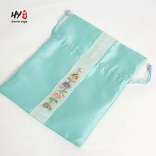 Bolso de empaquetado exquisito del satén de seda para las mujeres