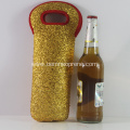 Factory Waterproof Golden Custom Neoprene Wine Holders