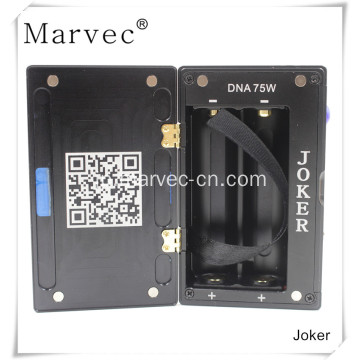Marvec Joker DNA75w box mod電子葉巻