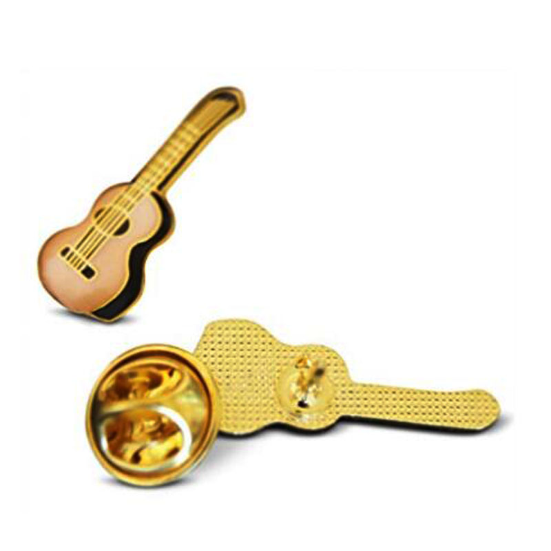 Musician Lapel Pin Made With Butterfly Buckle