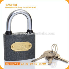 Fábrica de venda de plástico pintado Weather Proof Padlock