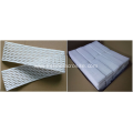 Lacrosse mesh kits for lacrosse head
