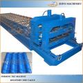 Aço vitrificado parede e painel de telhado frio formando máquina / Alta qualidade quente vender azulejos de aço azulejos fazendo máquina