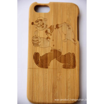 New Design Wooden Protective Back Case Cover for iPhone OEM/ODM