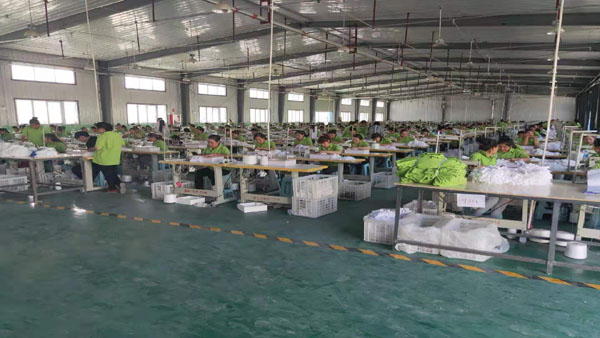 cotton gloves factory