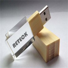 Wood Glass Glass USB Flash Drive 2.0