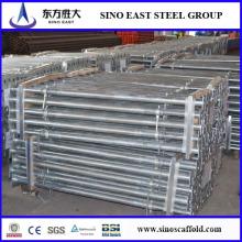 Andamios de acero ajustable Apoyo de apuntalamiento / Soportes de andamios de acero ajustable y molduras
