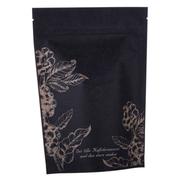 Té Café Doypack Stand Up Pouch Packaging