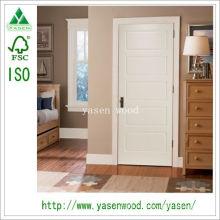 Образец Дизайн Белый Композитный Деревянная Дверь