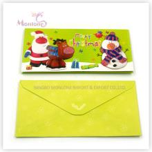Carte de voeux de décoration pour Noël