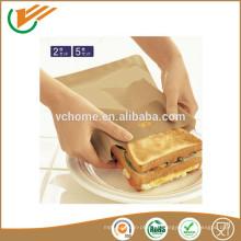 Wiederverwendbare Antihaft-Wiederverwendbare PTFE-Toastertasche, Toastie-Beutel, einfaches Sandwich