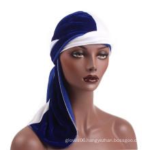 Jersey hijab bandanas hats polyester hair turban caps