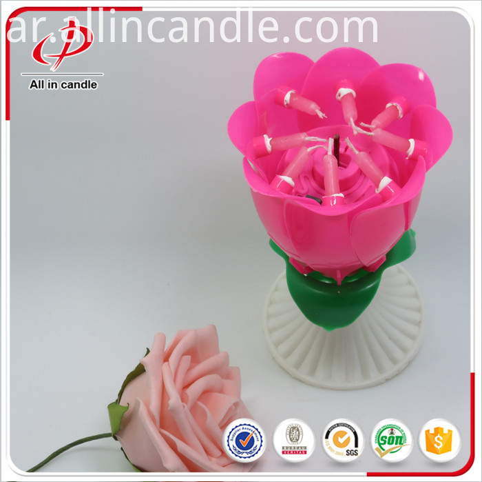 Mini Birthday Candle With Gift Box