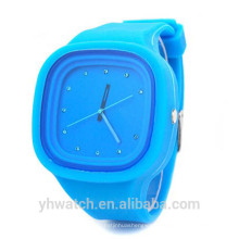 Hot japanese brands stone quartz japan movt wrist watch silicone