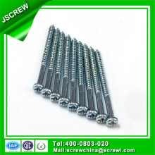 Pan Head Half Thread Self Tapping Screw Furniture Fastener