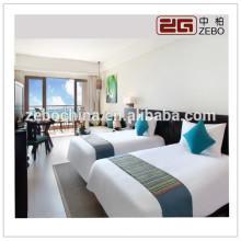 High Grade 5 Star Hotel Usado 80S 400T Luxo Queen Size Bedding Conjuntos