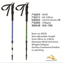 China Manufacturer for Foldable Alpenstock Aluminum Alloy Pole 3 Section Ultra Light export to Western Sahara Suppliers