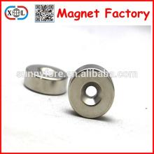 magnetização axial ndfeb rodada ímãs com furos