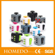 High quality desk toys dice customized magic fidget cube relieves stress anxiety