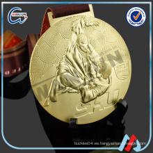 Suspensión medalla de deporte en blanco