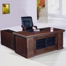 Hölzerner Bürotisch der Büromöbel
