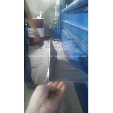 CNC hidráulica placa de acero placa de corte de hojas de metal