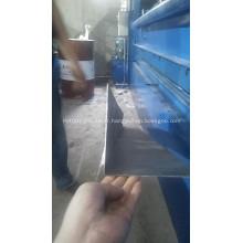Machine de découpage de tôles de tôles d'acier hydrauliques CNC