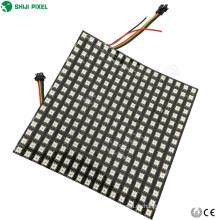 P10 16x16 8x32cm apa102c pixel flexible rgb led panel punto matriz luz