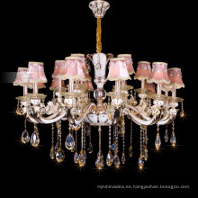 A brilliant crystal candle lighting empire crystal chandelier 88630