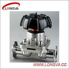 Hotsale Sanitary Manual Clamp Diaphragm Valve