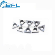 BFL TiN Coated Carbide Turning Inserts/Solid Carbide Indexable Inserts For Steel Milling