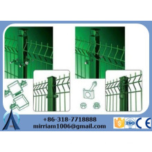 Hochwertiges 50 * 50mm bewegliches Metallumzäunung / entfernbarer temporärer Zaun / preiswerter Metallumzäunung