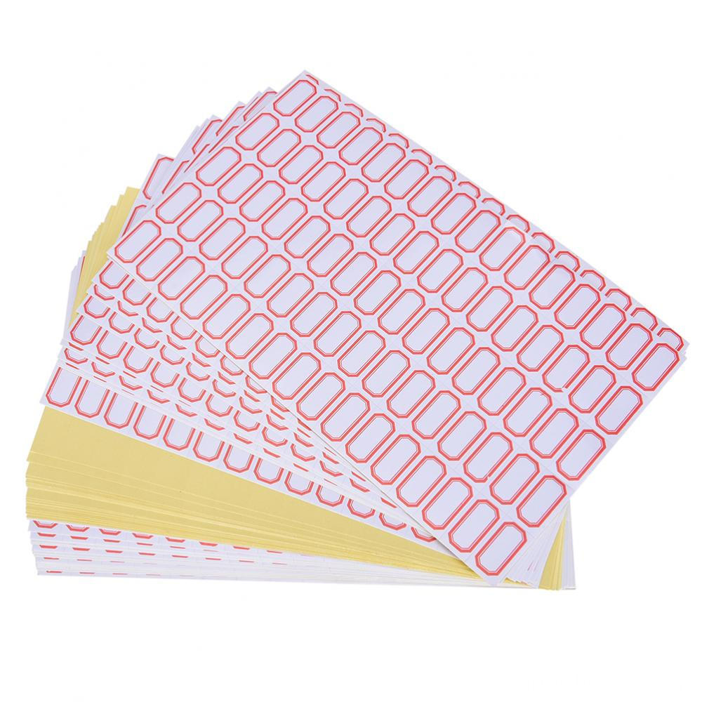 60sheets 4800pcs 12mm X 23 Mm Mini Blank Font B Label B Font Font B Plain